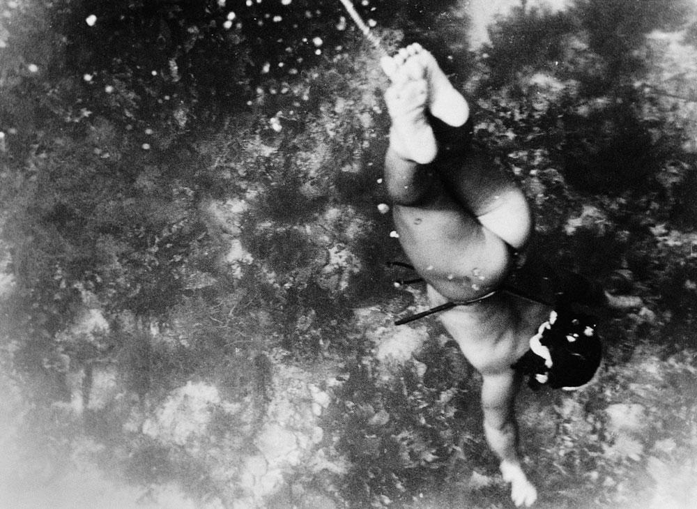 Японские девушки-ловцы жемчуга.30-е годы