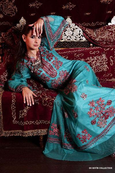 Les robes des femmes de l'Est