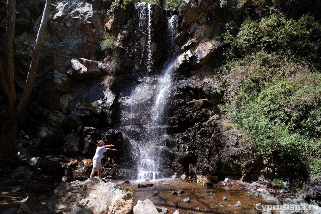 Водопады Кипра