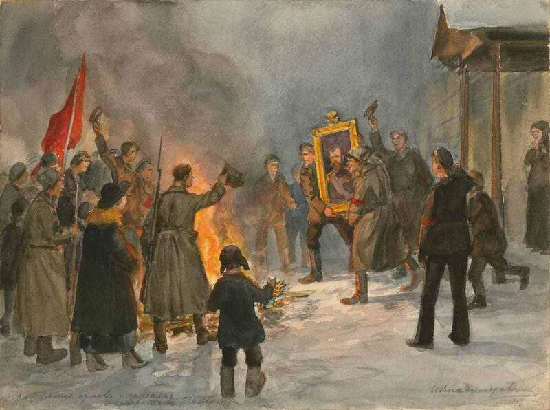 the series of revolutionary events in russia The spark to the events that ended tsarist the bolsheviks issued a series of revolutionary decrees although in 1919 soviet russia had shrunk.