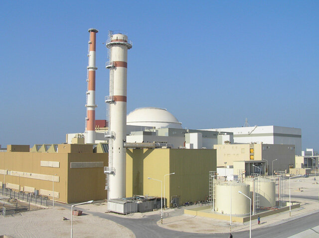 АЭС в Бушере. Иран.