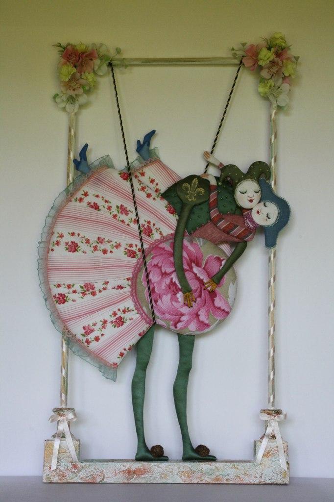 Текстильная с5a8кульптура Татьяны Овчинниковой
