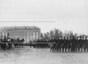Смотр молодых солдат (призыва 1912года) 3-го стрелкового полка.