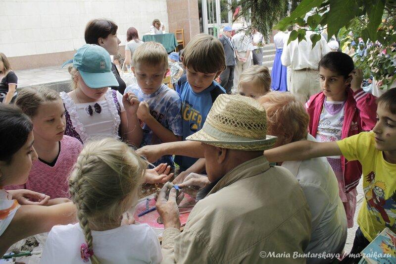 Детский праздник на усадьбе, Саратов, музей-усадьба Н.Г.Чернышевского, 24 июля 2013 года