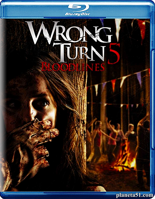 Поворот не туда 5: Кровное родство / Wrong Turn 5: Bloodlines (2012/HDRip)