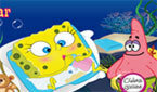 ������� ����� ��� (Baby Spongebob Change Diaper)