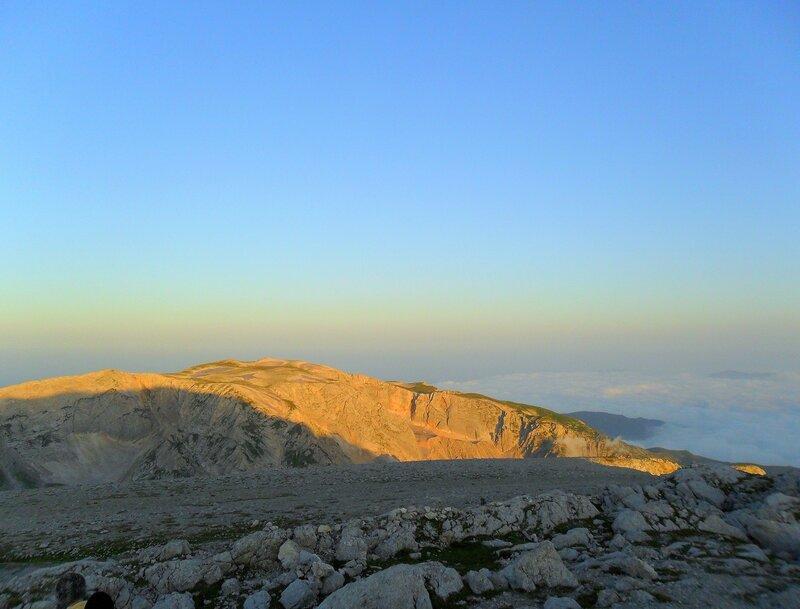 Утро на вершине, Фото туристическое