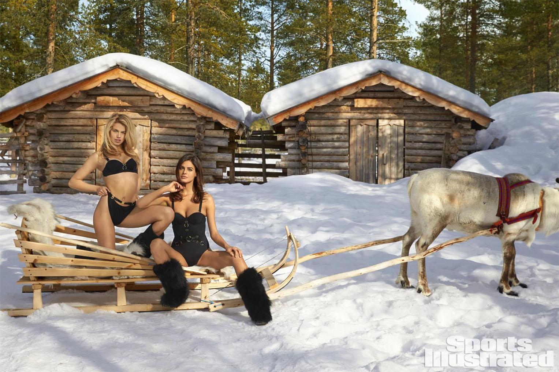Hailey Clauson / Хейли Клоусон в купальниках из новой коллекции Sports Illustrated Swimsuit 2017 issue / in Finland by Walter Chin