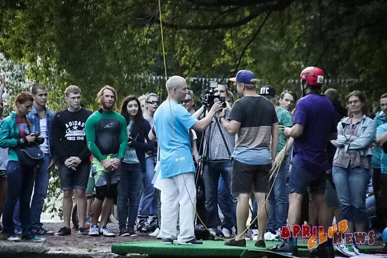 Открытие вейк-парка Траектория х Парк Горького