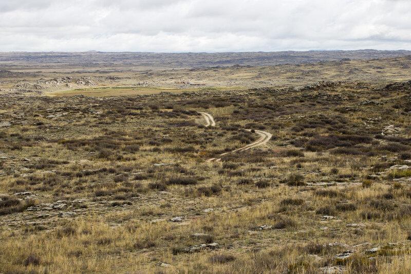 дорожка по каменному плато
