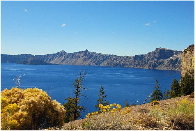 Озеро Крейтер. США