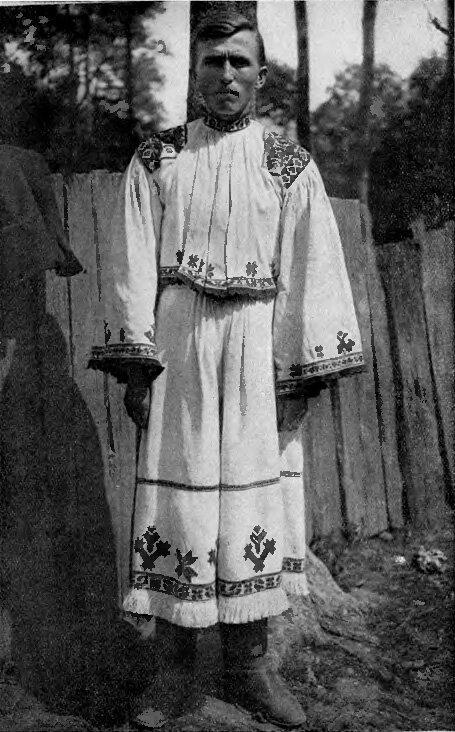 Подкарпатская Русь. Черна - крестьянин. 1925