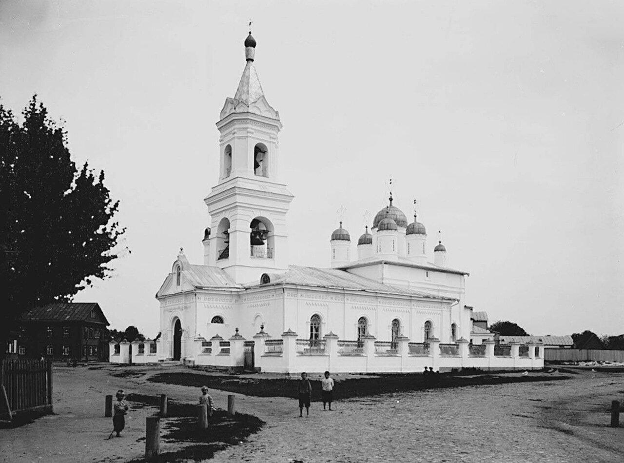 Внешний вид Троицкой церкви. 1903 г.