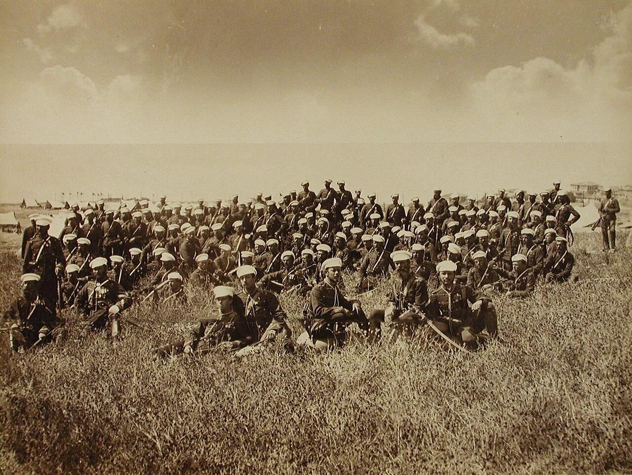 39. Солдаты и офицеры Эскадрона его величества. Турция. Амбарли