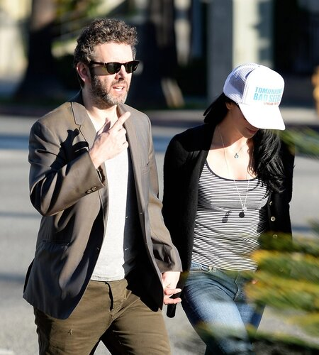 Sarah Silverman, Michael Sheen _ 022314K14_SILVERMAN_NPG_11