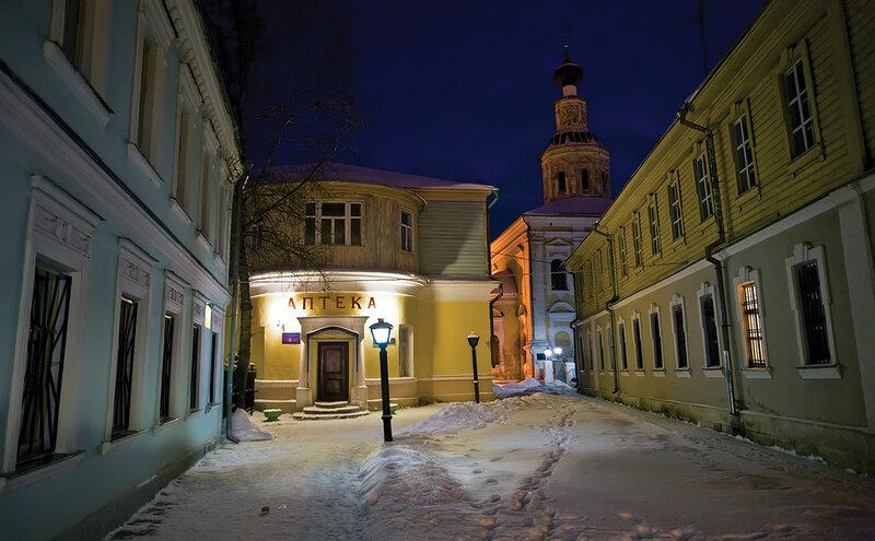 Ночь улица фонарь часть 2