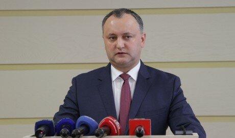 Игорь Додон намерен внести поправки в Конституцию Молдовы
