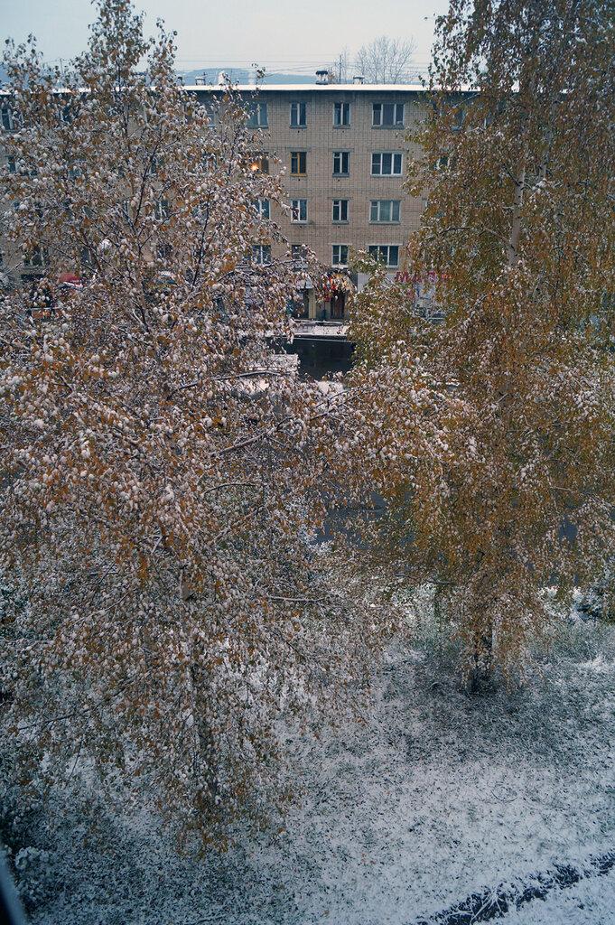 В Златоусте наступила бабья зима