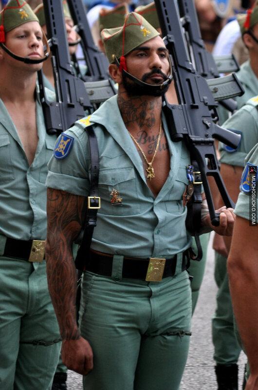 Испанская военная форма