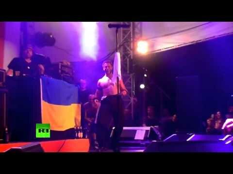 Bloodhound Gang оскорбили флаг Украины 16+