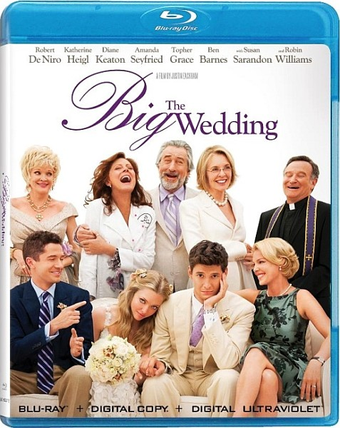 Большая свадьба / The Big Wedding (2013)  BDRip 1080p + 720p + HDRip
