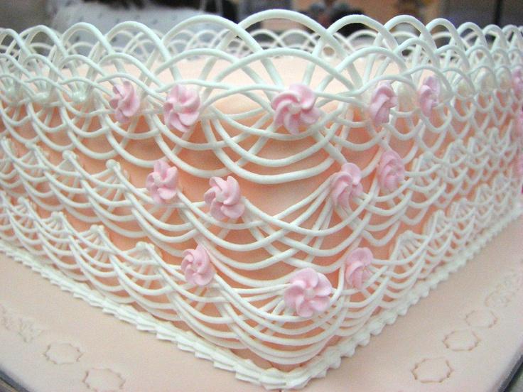 кружева для торта рецепт с фото