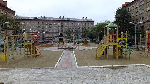 Фото города Инта №5364  Социалистическая 3а, Бабушкина 4 и Мира 9 30.07.2013_13:44