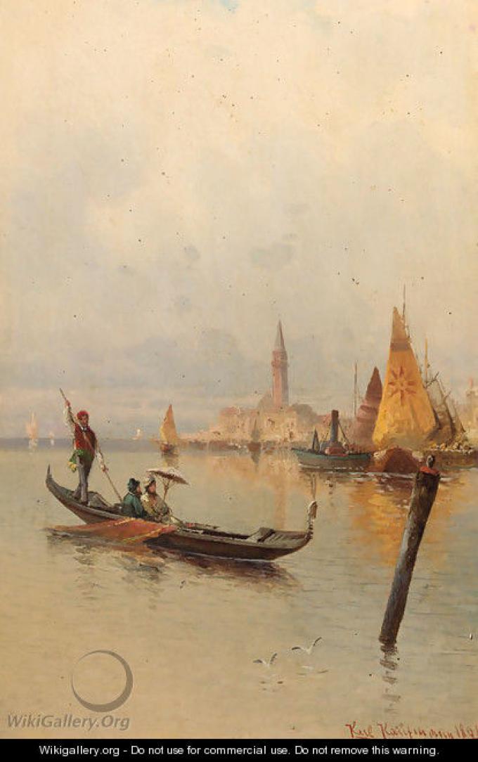 Boating on the Laguna, Venice