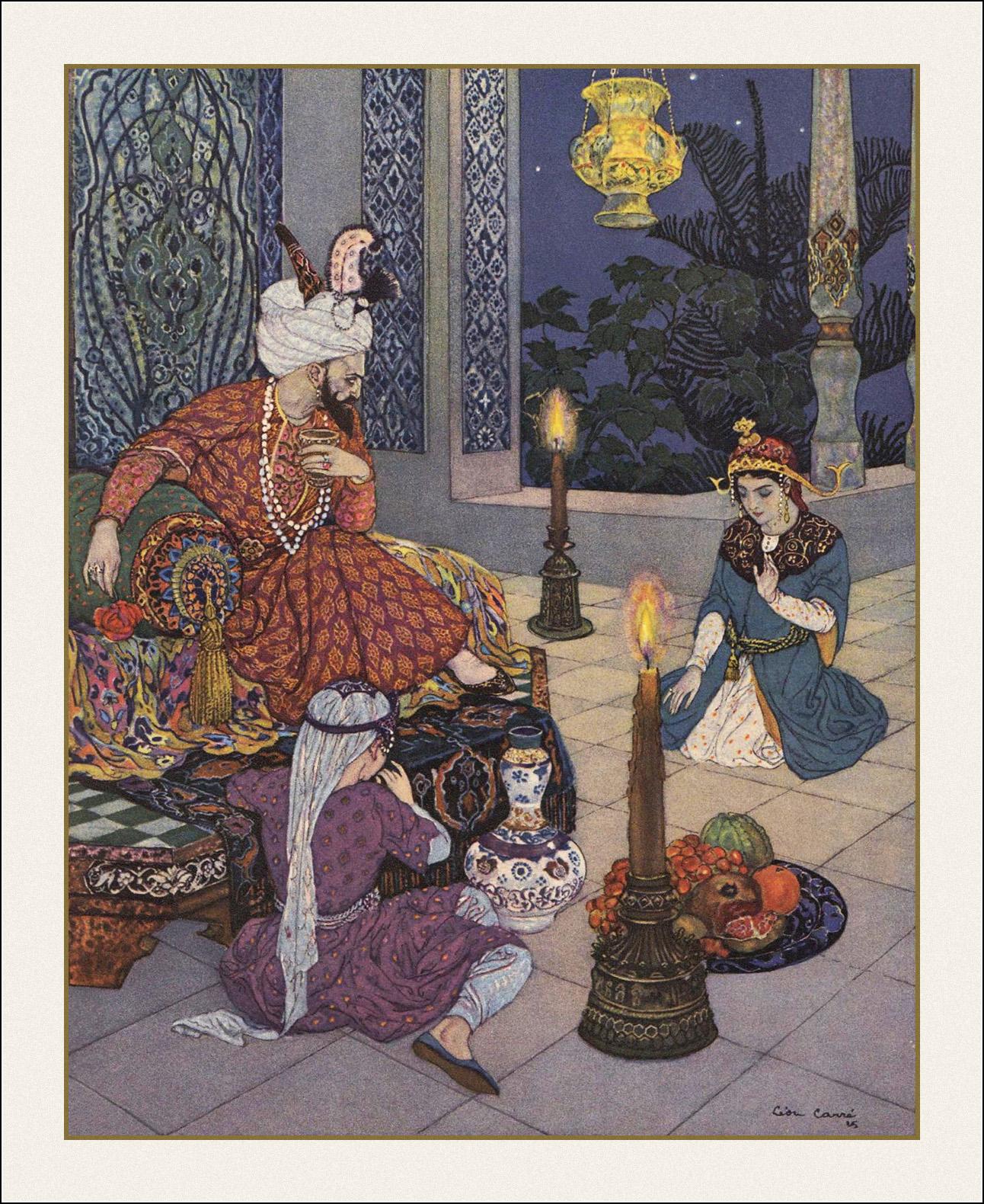 A Tale Of One House Le Livre Des Mille Et Une Nuits Book Graphics