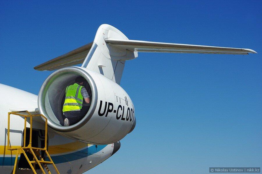 Ремонт двигателя самолета в Алматы