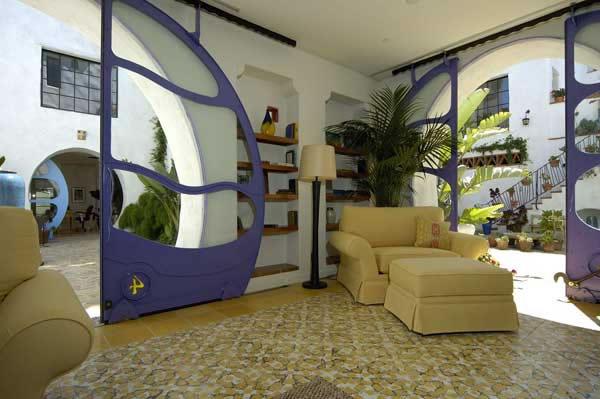 Архитектор Jeff Shelton / Джеф Шелтон. Причудливая Санта-Барбара. 40 фото