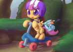 Мой Маленький Пони на Скейте - Little Pony Game