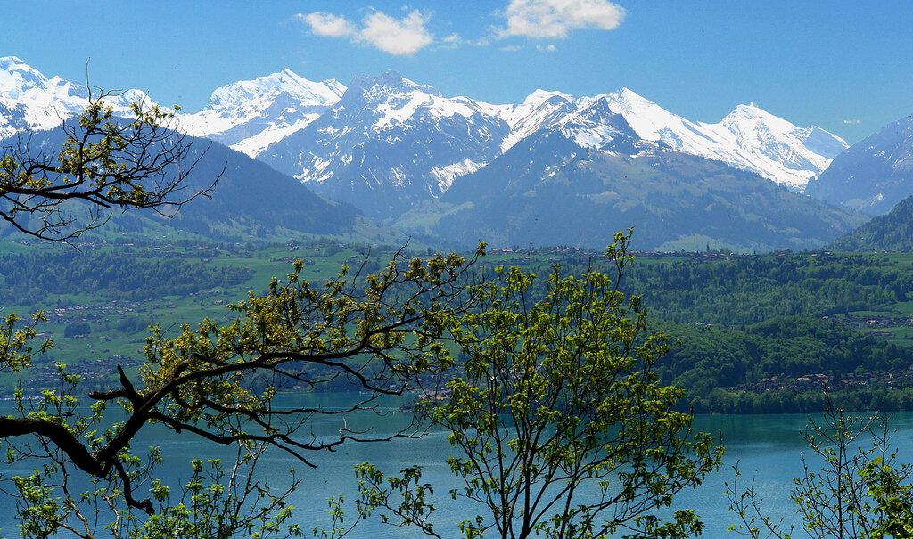 Весна и Альпы