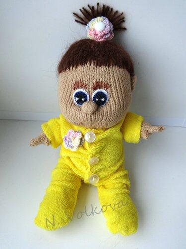 пупс в пижамке
