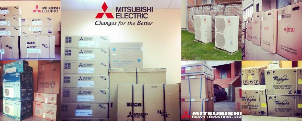 Сплиты MITSUBISHI в Краснодаре, установка, склад, низкие цены