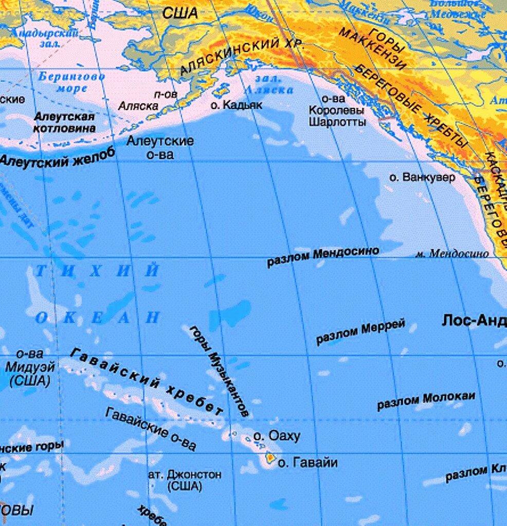 Гаваий в Тихом океане.jpg