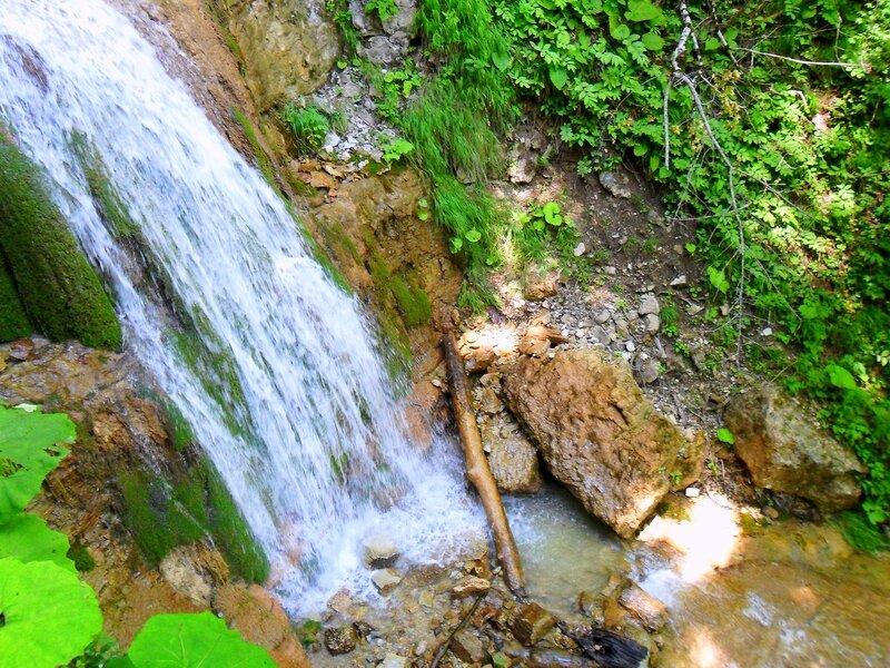 У вод Лунных водопадов. Лето 2010, Мезмай-Оштен