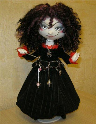 колдунья кукла
