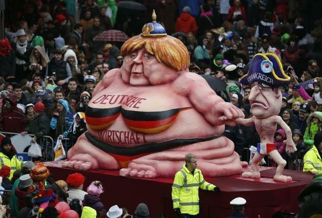 Карнавалы в Германии 2014