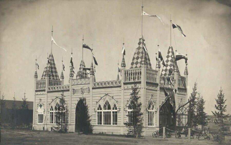 Здание выставки
