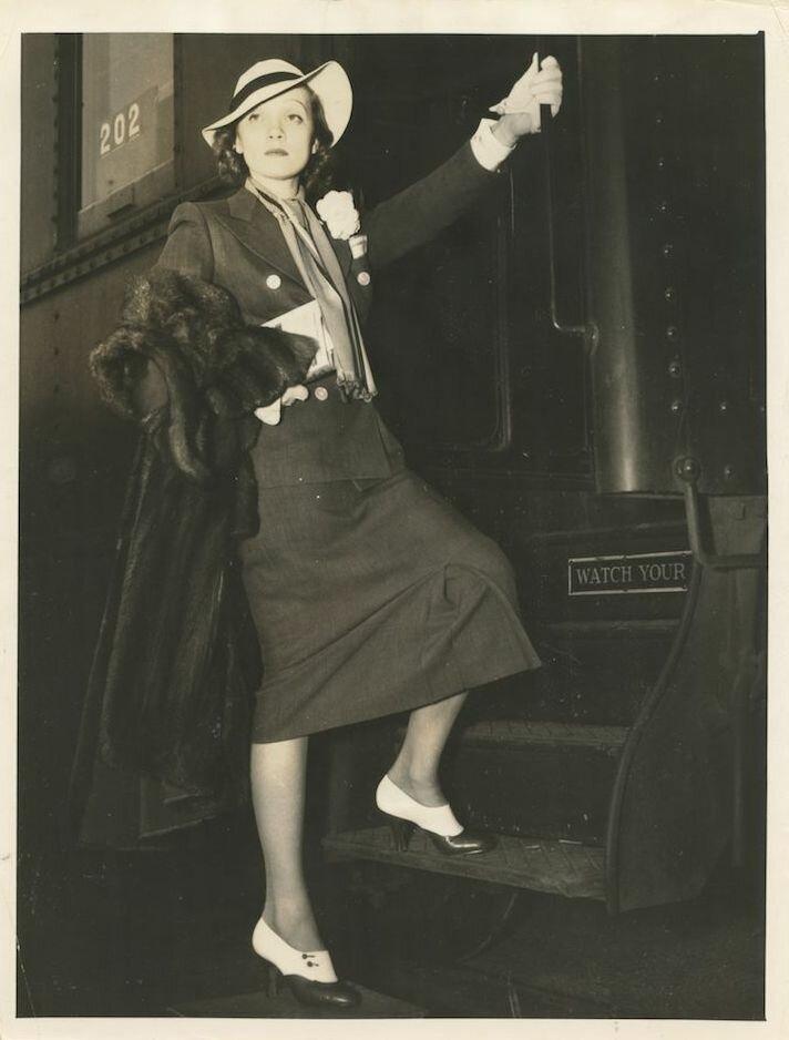 1930-е. Марлен Дитрих