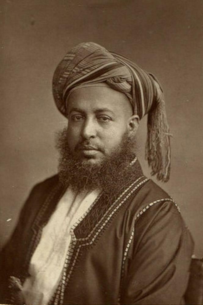 Саид Баргбаш бин Саид Аль-Бусаид, второй султан Занзибара