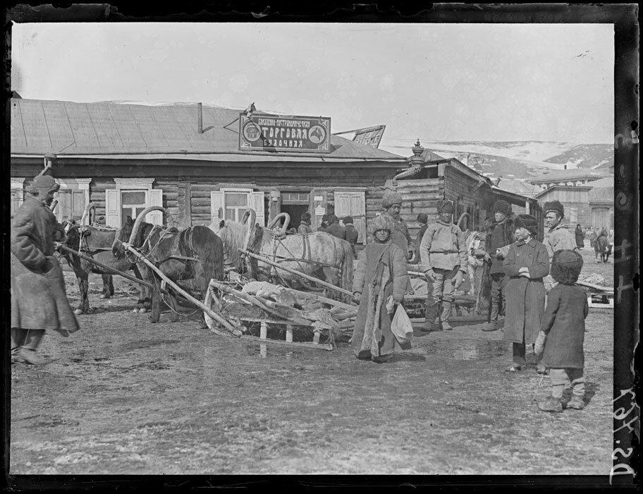 1919. Март-апрель. Станция Оловянная