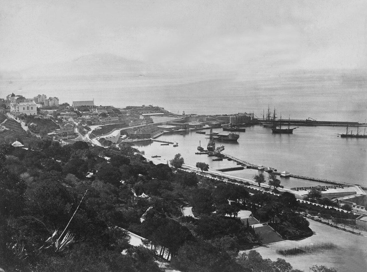 1850. Вид нового Мола