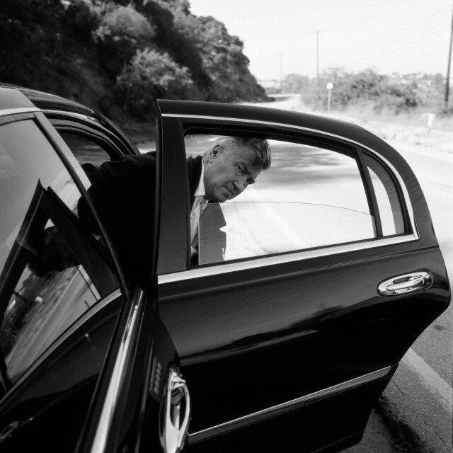 2001. Дэвид Линч на съемках фильма «Малхолланд Др.»