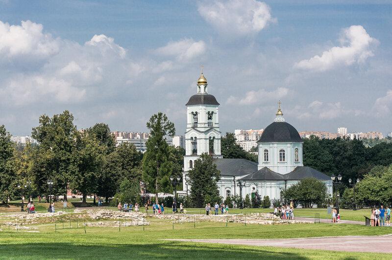 Царицыно - Храм Иконы Божией Матери