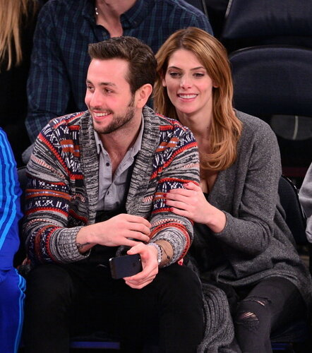 Celebrities Attend The Washington Wizards Vs New York Knicks Game