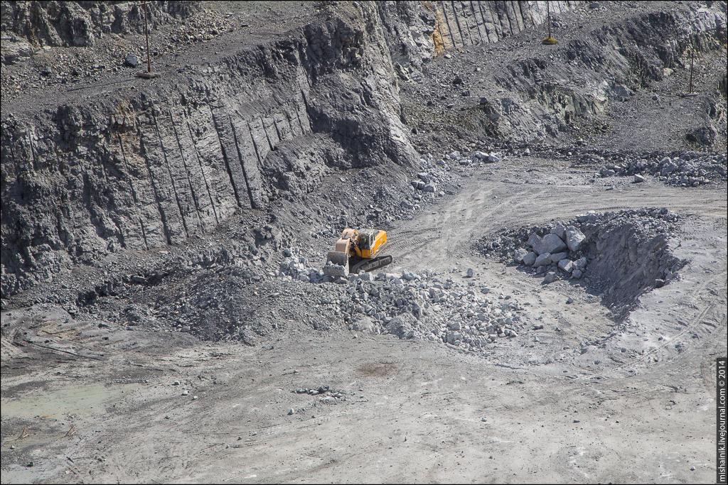 Березовский карьер магнезита