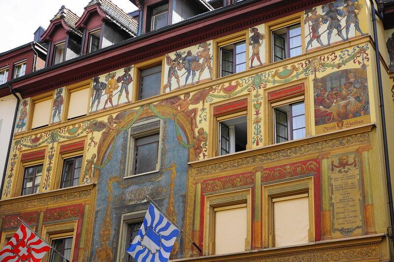 Здание XIIвека в Старом Люцерне