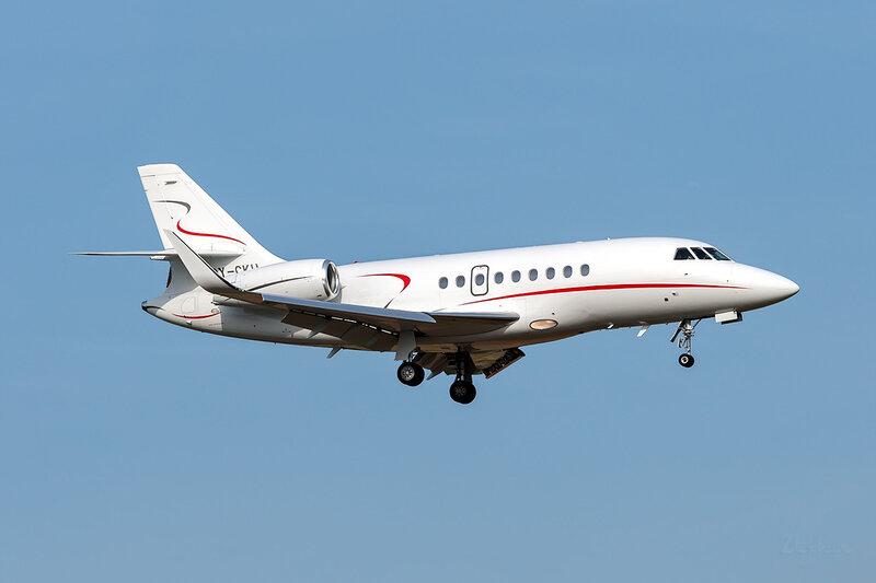 Dassault Falcon 2000LX (OY-CKH) Air Alsie DSC_3605